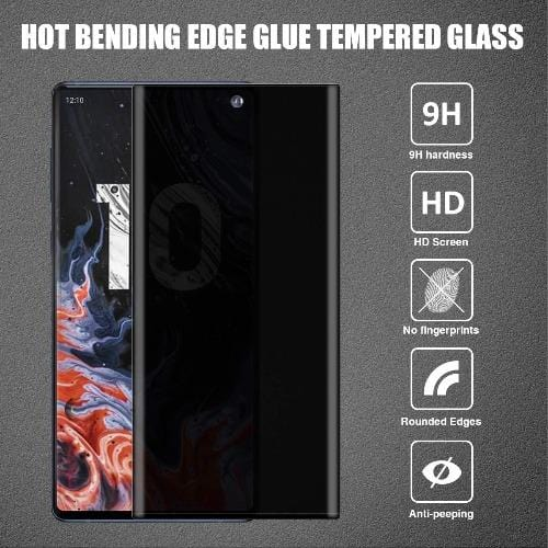 ZeroDamage Privacy Glass Protector Samsung Galaxy Note 10 - Sahara Case LLC