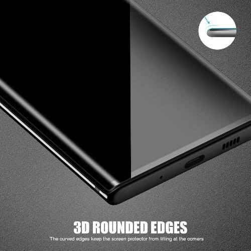 ZeroDamage Privacy Glass Protector Samsung Galaxy Note 10+ and Note 10+5G - Sahara Case LLC