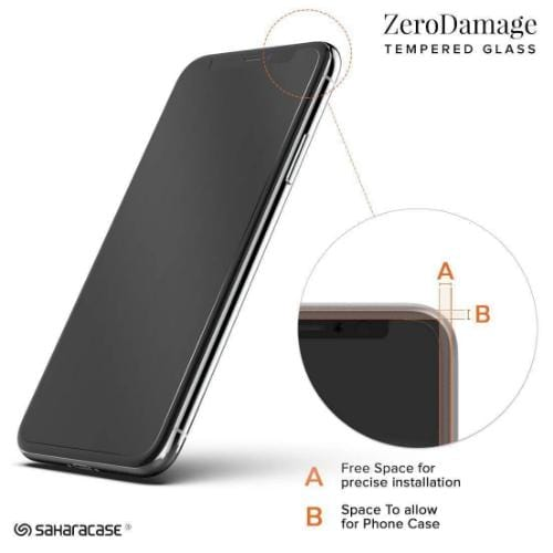"ZeroDamage Privacy Glass Screen Protector - iPhone 11 & XR 6.1"" - Sahara Case LLC"