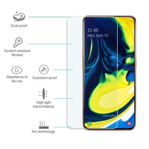 ZeroDamage Tempered Glass Samsung Galaxy A80 - Sahara Case LLC