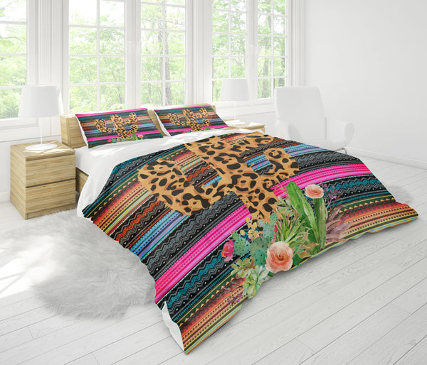 Custom Bedding Cactus Bedding Set
