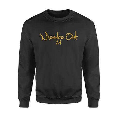 Mamba Out Signature T Shirt  Farewell Tribute T-Shirt - Standard Fleece Sweatshirt