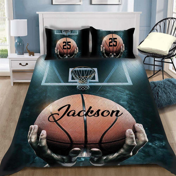 Custom Bedding Basketball Personalized Bedding Set