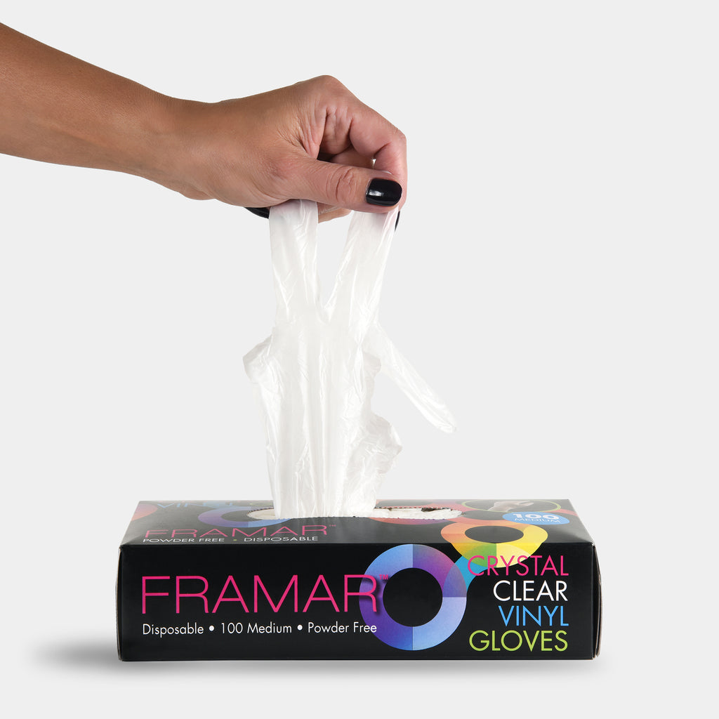 Crystal Clear Disposable Gloves