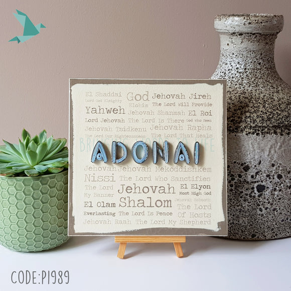 Names of God ADONAI