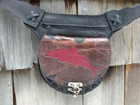 Fish Hip Bag