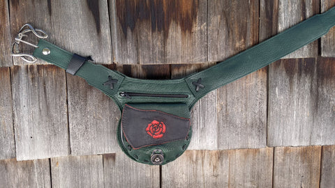 Small Rose Hip Bag, Travel Belt