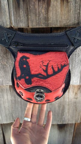 Raven Hip Bag, Travel Belt