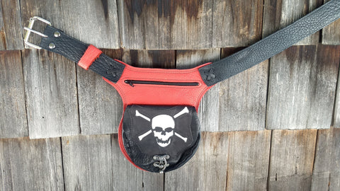 Jolly Roger Hip Bag, Travel Belt