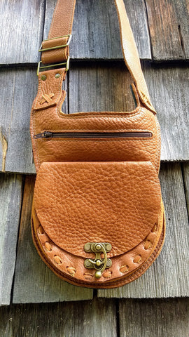 Tobacco color Shoulder/Cross-body Bag