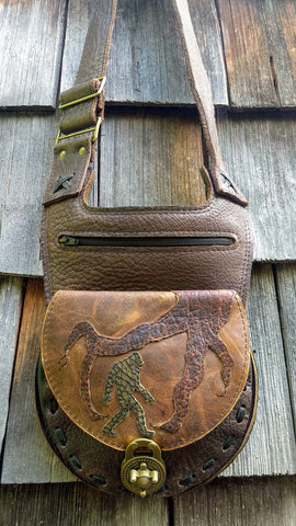 Sasquatch/Big foot Shoulder/Cross-body Bag