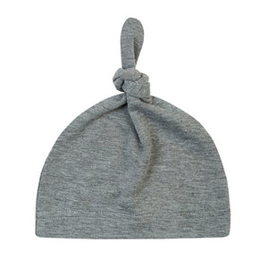 4baa45c0e43c ... Fashion Knot Baby Hat Candy Color Cotton Boy Cap Spring Autumn Baby  Girls Newborn Infant Toddler