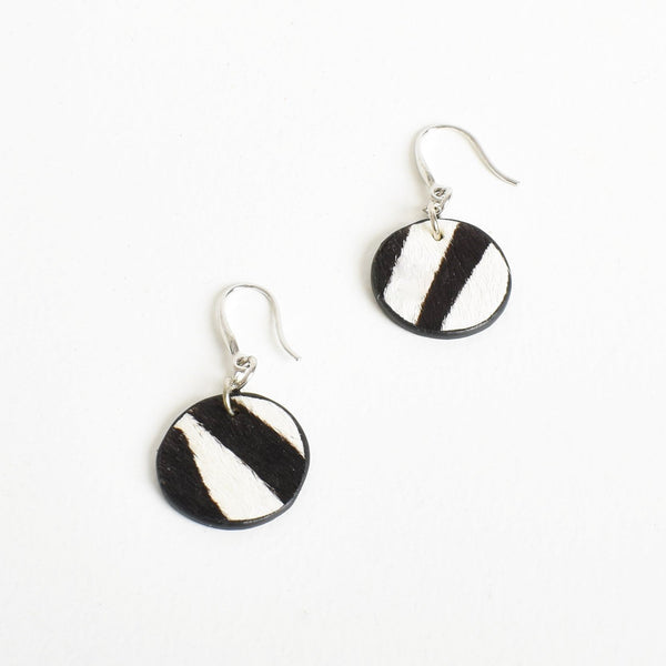 Hyde Disc Drop Earrings - sammi