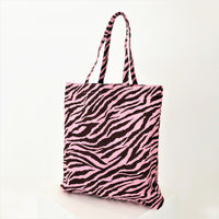 Zebra Market Tote shopping Bag - sammi