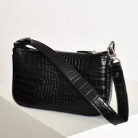 Small black womens handbag