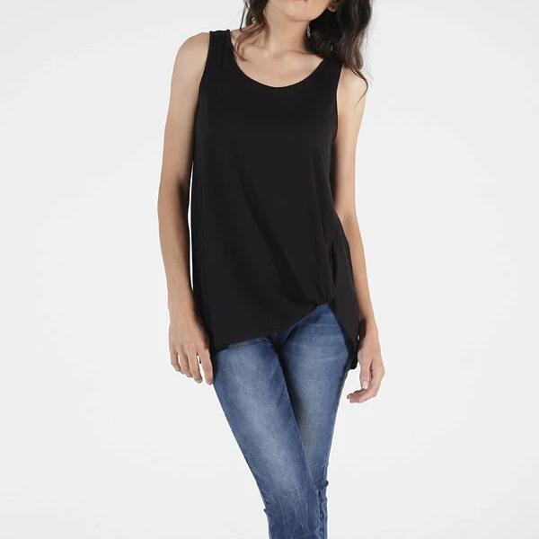 BETTY BASICS Tank Top in Black