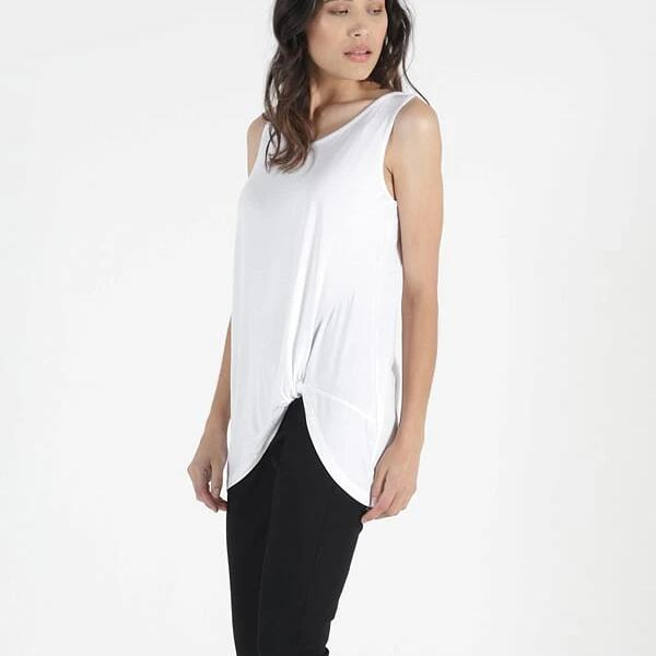 BETTY BASICS - Tank Top in White