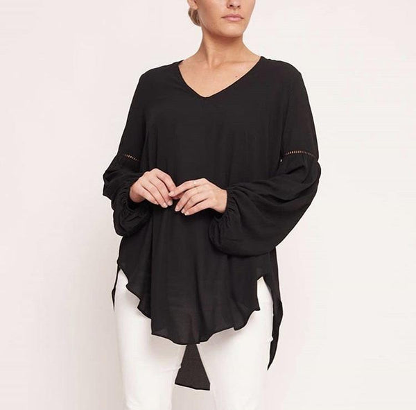 Detailed Sleeve Top - sammi