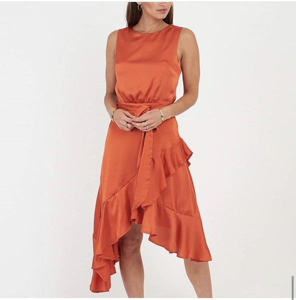 Ruffle Dress - sammi