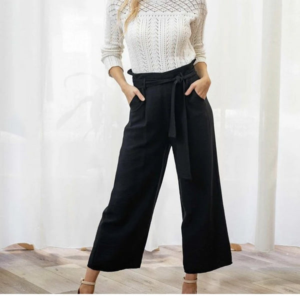 Iris Maxi Wide Leg Pull on Pants