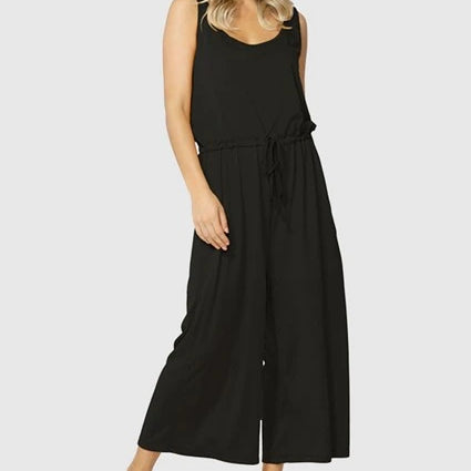 BETTY BASICS - Maldives Jumpsuit in Black