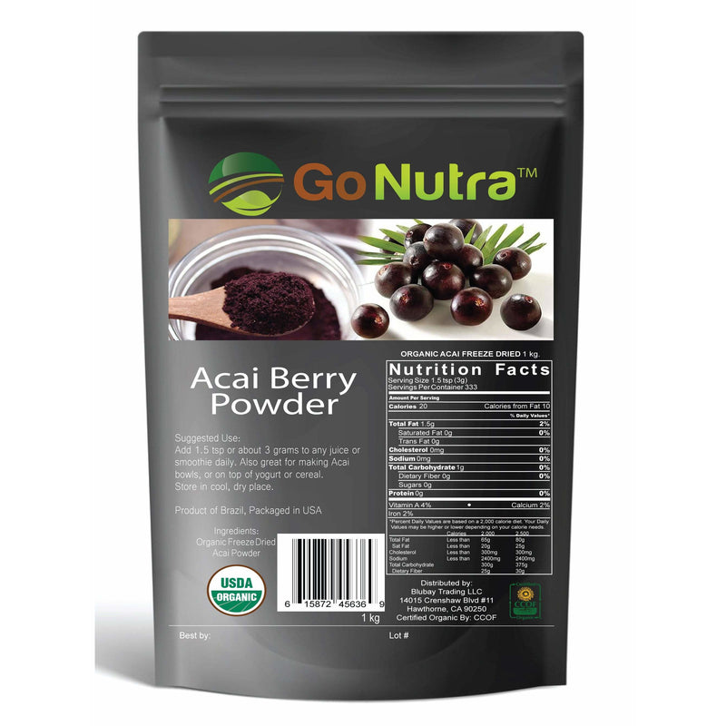acai berry amazon amazonas natural non gmo vegan berry juice freeze dried