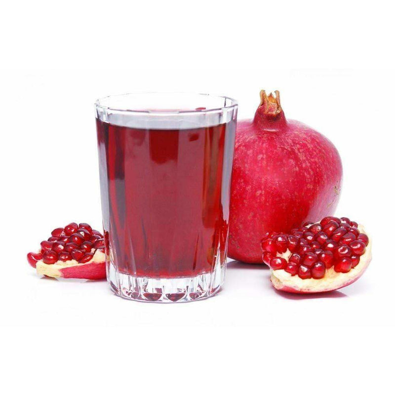 pomegranate juice is a great way to start your day