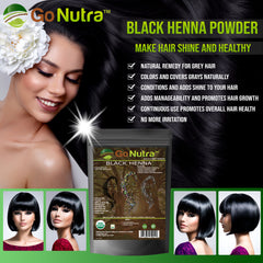 henna hair dye powder