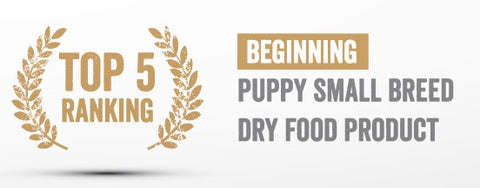 Puppy Small breed Essential foods Mo.1 Rating