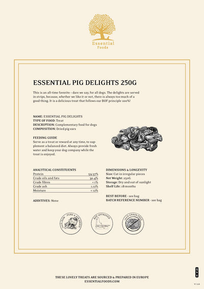 ESSENTIAL PIG DELIGHTS