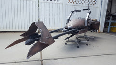 Blueprint Plans & 3D Parts for Building A FULL-SIZE STARWARS SpeederBike