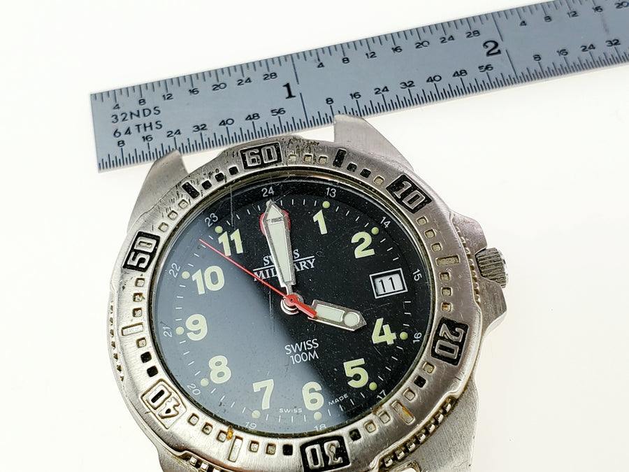 Swiss Military Watch 095 0489 Face Only - Aces In Action
