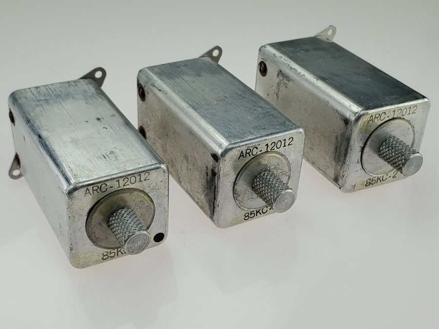 Vintage 1940s/50s IF Coil Transformers 12012 85 KC-2 ARC Radio Receiver Lot of 3 - Aces In Action
