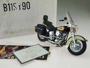 Franklin Mint Harley Davidson B11SY90 - The Heritage Softail Classic 1/10 - Aces In Action