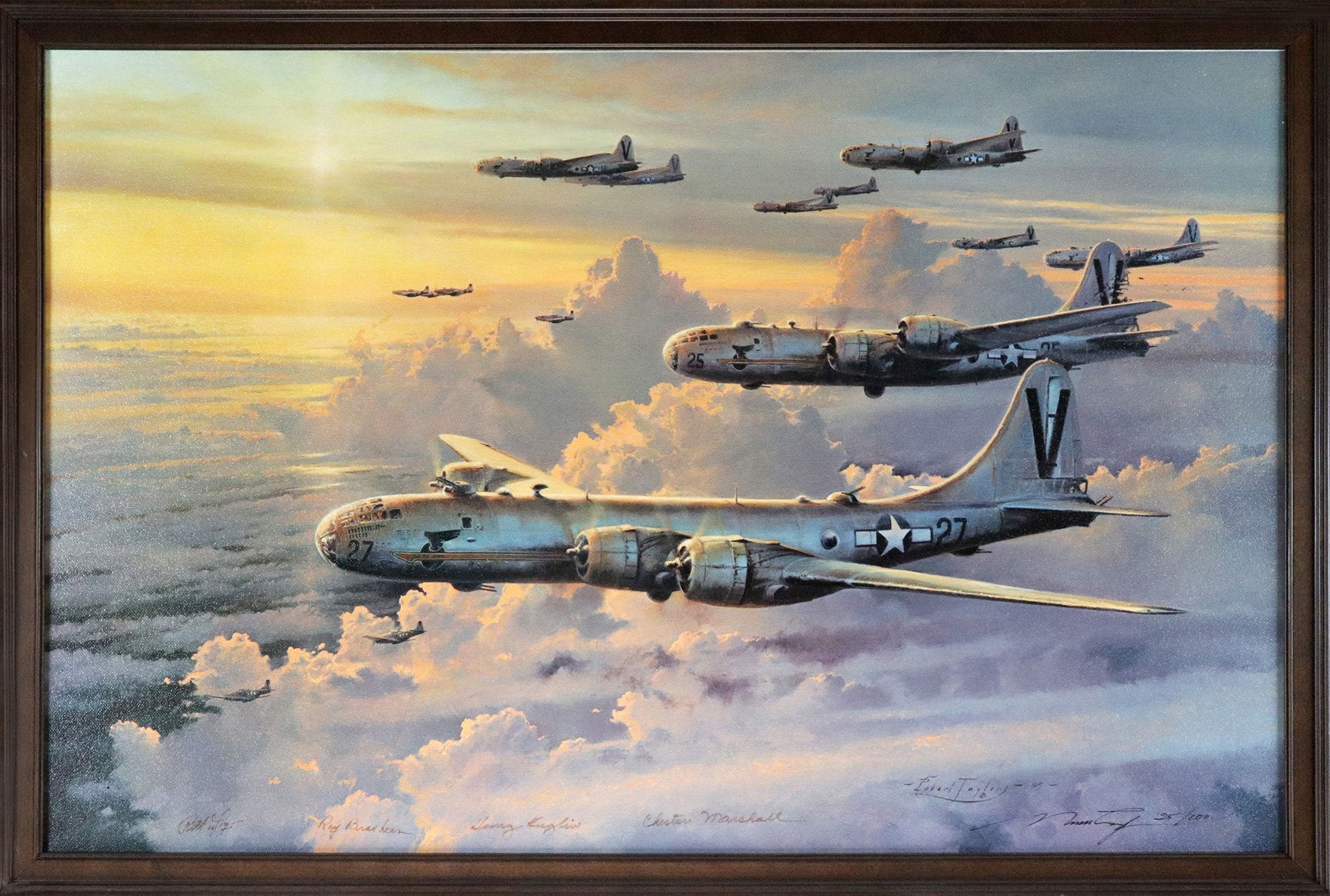 """Valor In The Pacific"" Fine Art by Artist Robert Taylor"