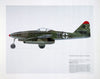 """Me-262 Profile"" Fine Art by Artist LG Hall - Aces In Action"