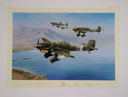 """Stuka"" Fine Art by Artist Robert Taylor - Aces In Action"