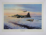 """The Mighty Eighth - Coming Home"" Fine Art by Artist Robert Taylor - Aces In Action"