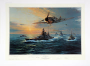 """The Channel Dash"" Fine Art by Artist Robert Taylor - Aces In Action"