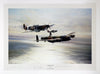 """Memorial Flight"" Fine Art by Artist Robert Taylor - Aces In Action"