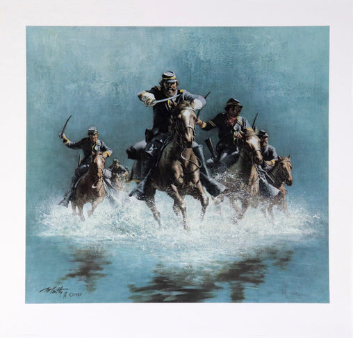 """Saber Charge"" Fine Art by Artist Frank McCarthy"