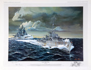 """North Atlantic River"" Fine Art by Artist Hugh Polder - Aces In Action"