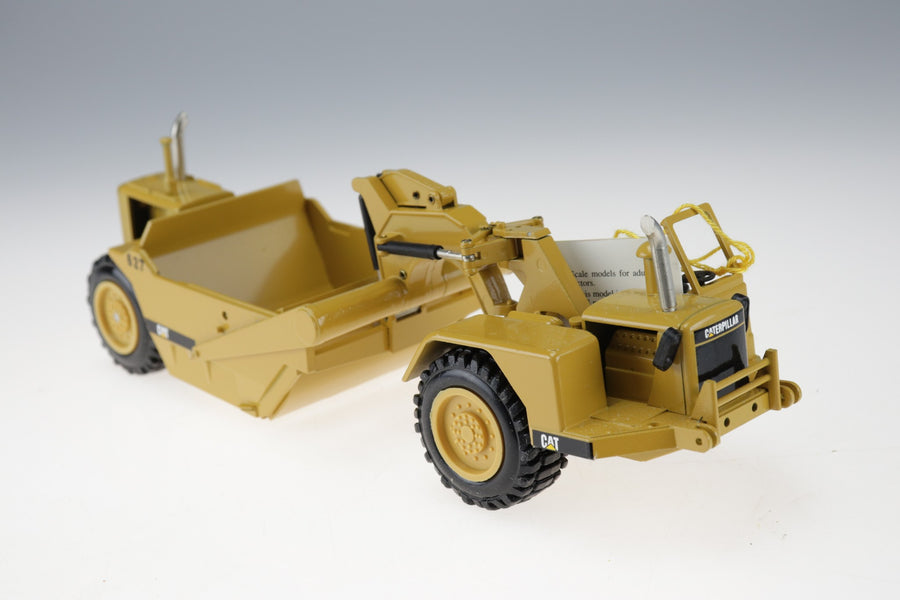 RARE NZG Modelle Made Germany Push Pull Schurfzug CAT 627 Scraper 126 With Box! - Aces In Action