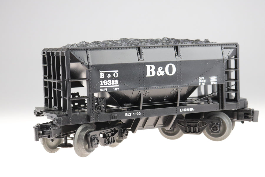 Lionel Train B & O Baltimore Ohio Ore Car With Load 6-19313 In Box O Scale - Aces In Action