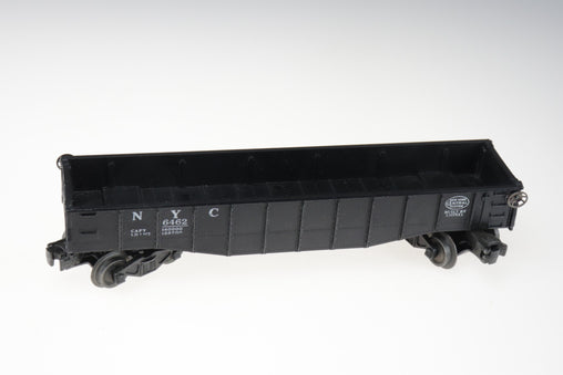 Lionel Gondola New York Central NYC 6462 With Brake Wheel Black O Gauge