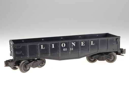 Lionel Gondola Train Car No 6012 Black O Gauge