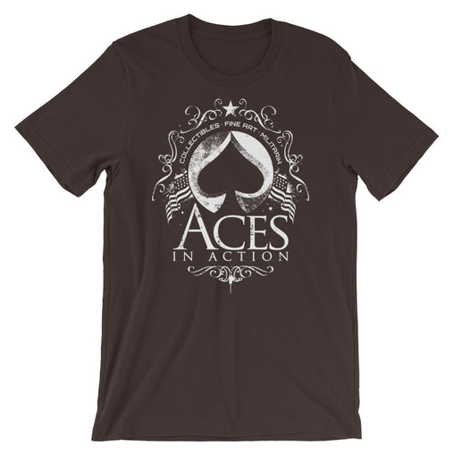 Aces In Action Short-Sleeve Unisex T-Shirt