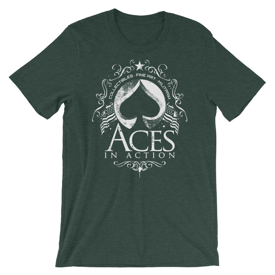 Aces In Action Short-Sleeve Unisex T-Shirt - Aces In Action