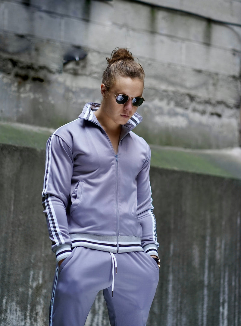 Light Grey Track Suit