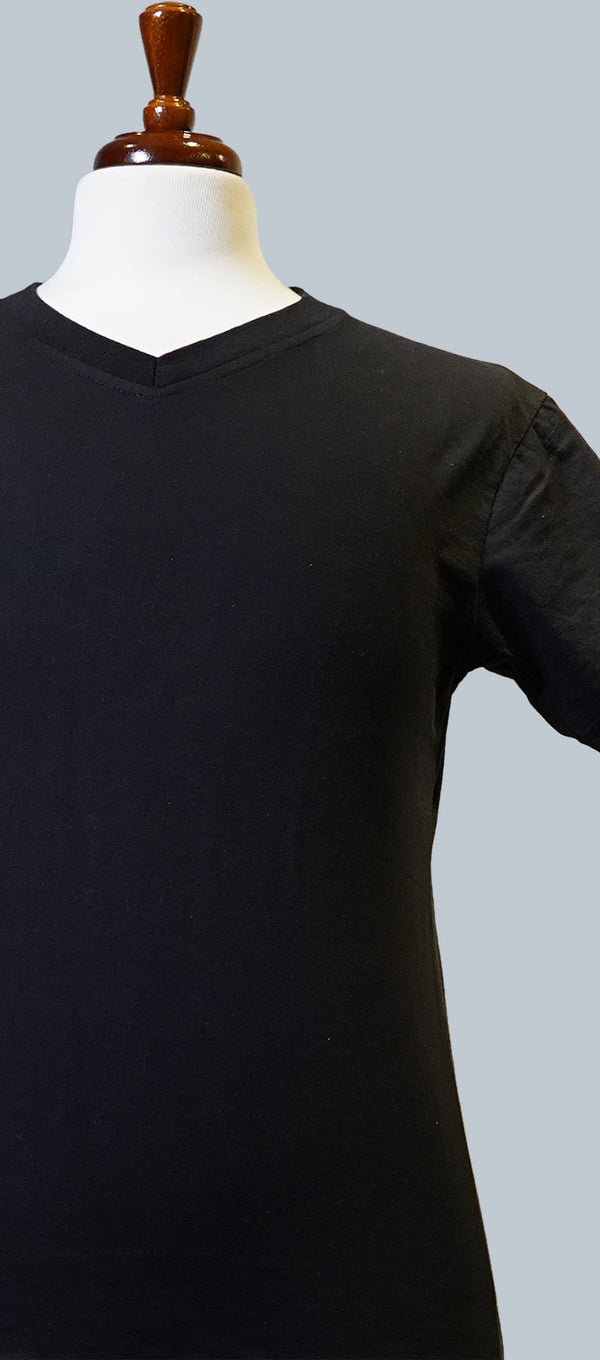 Black Short Sleeve T-Shirt